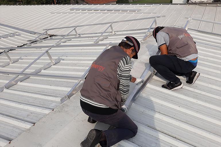 Instalação de Sistema Fotovoltaico em Barcelos